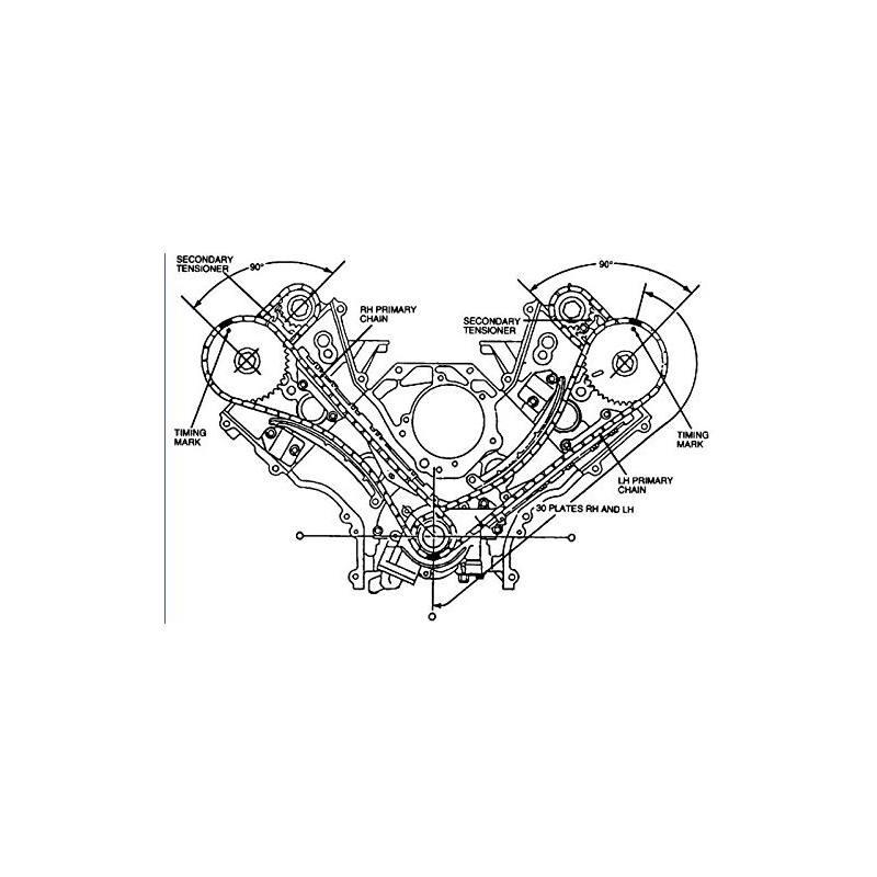 Kit De Cadena De Sincronizacin V8 4 6l V W 6 9 F150 Mustang