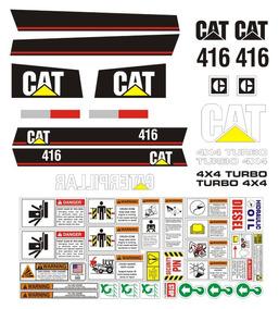 5dafee4a Juego De Calcomanias Caterpillar 416 en Mercado Libre México