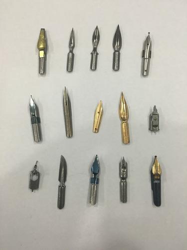 kit de caligrafía con 5 plumas a eleccion y portaplumas