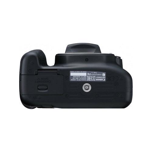 kit de camara profesional canon t6 + lente 18-55 is + 32gb