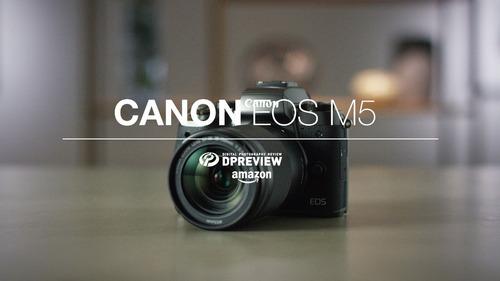 kit de cámara sin espejo canon eos m5 ef-m 18-150 mm f / 3.5