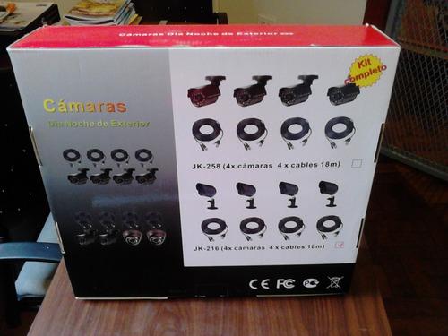kit de camaras de seguridad infrarrojas