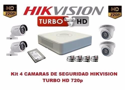 kit de camaras turbo hd hikvisión cctv