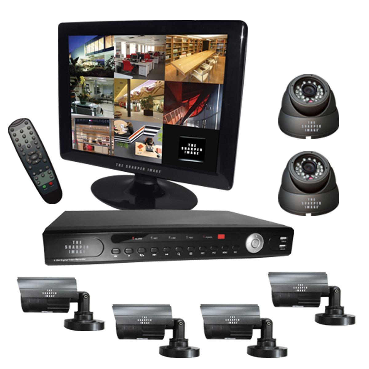 Circuito Cerrado : Kit de camaras video vigilancia circuito cerrado seguridad