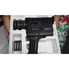 Kit De Camera Progetor E Tela Super 8 Mm