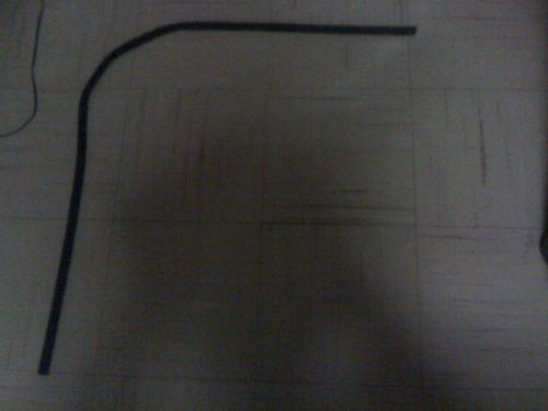 kit de cañuelas botaguas sedan vocho empaque aletas marcos