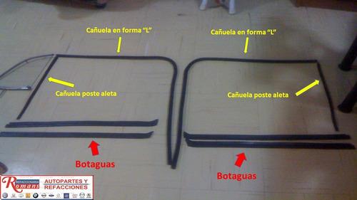 kit de cañuelas botaguas sedan vocho  vw1