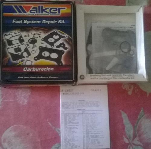 kit de carburador chevrolet 305/350 2 bocas (redondo) walker