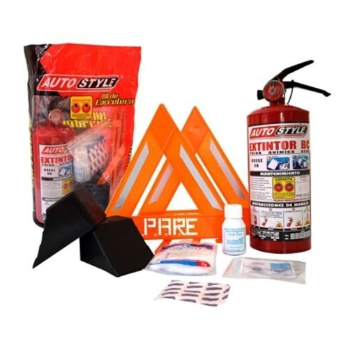 kit de carretera n-22 extintor 5 libras bc 4 el autostyle