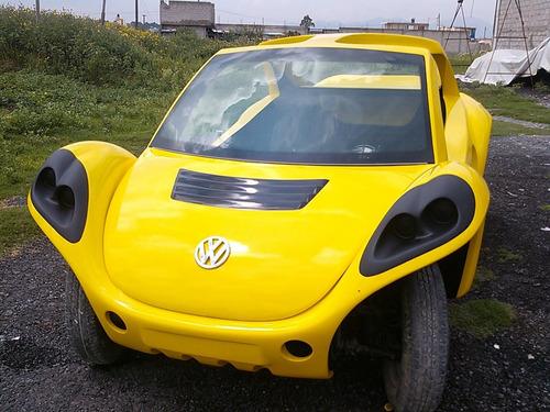 kit de carroceria fibra de vidrio de buggy  tipo beetle