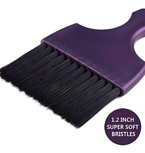 Kit De Cepillo Para Polvo De Tinte De Pelo Para Colorear Tin