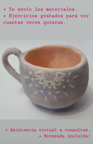 kit de cerámica en casa