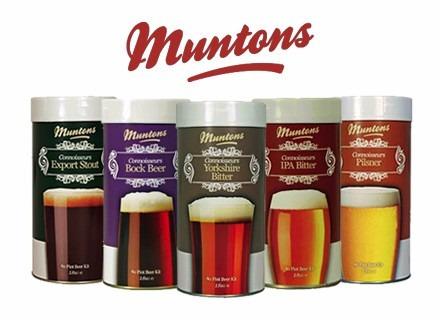 kit de cerveza artesanal + extracto de malta muntons