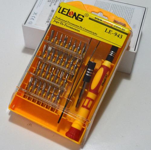 kit de chaves ferramentas pequenas profissional 35 peças