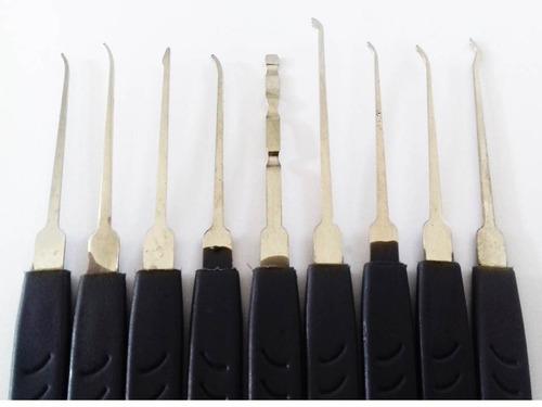 kit de chaves michas 10 peças ferramenta chaveiro