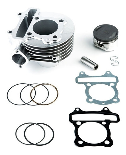 kit de cilindro + piston 150cc scooter gy6 (57.4mm)