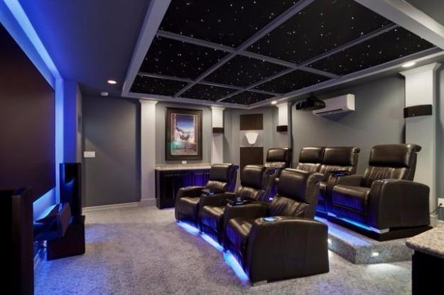 Kit de cine en casa con todo incluido para ver netflix - Sala de cine en casa ...