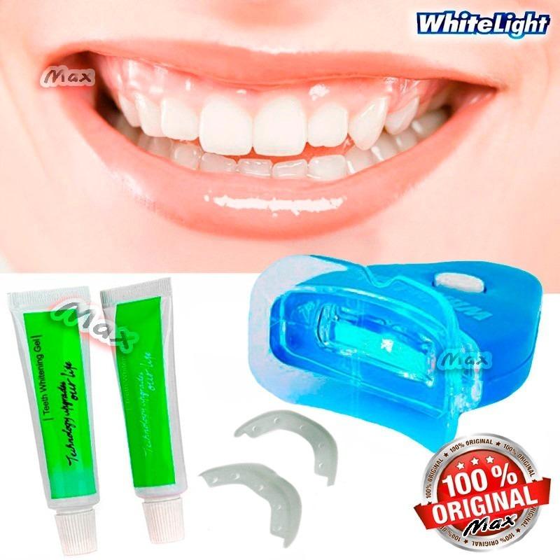 Kit De Clareamento Dental Importado White Light Clareador R 44