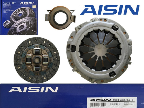 kit de clutch (croche) yaris aisin 1.3 del 2000 al 2010 (kb)