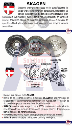 kit de clutch dodge ram 1500 3.7 lts v6 2002 2003 2004