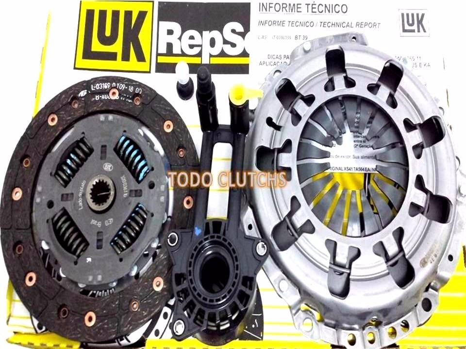 Luk Clutch Kit >> Kit De Clutch Ford Fiesta, Ecosport, Ka 1.6 - Bs. 200.856,26 en Mercado Libre
