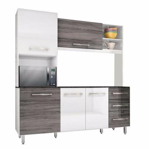 kit de cocina compacto aereos y bajo mesadas todo en uno