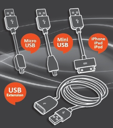 kit de conectores usb
