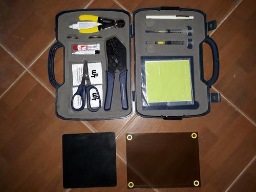 kit de conectorizacion fibra optica
