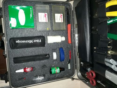 kit de conectorizacion fibra óptica