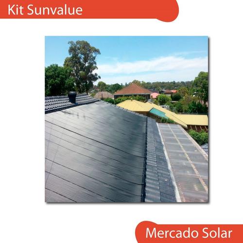 kit de conexiones p/ kit climatización pileta solar sunvalue