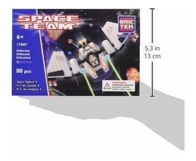 kit de construcción brictek 4 space fighter