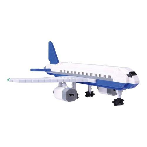 kit de construcción de avión nanoblock aaa