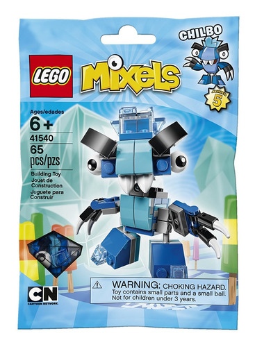 kit de construcción lego mixels chilbo