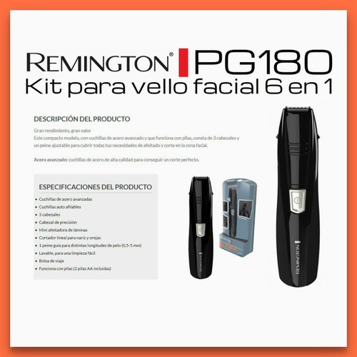 kit de corte 6 en 1 remington