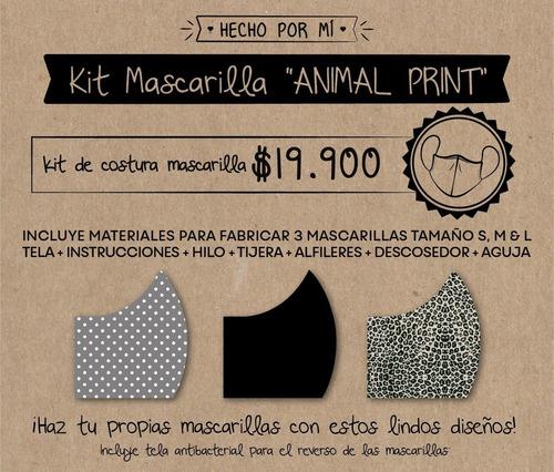kit de costura mascarilla