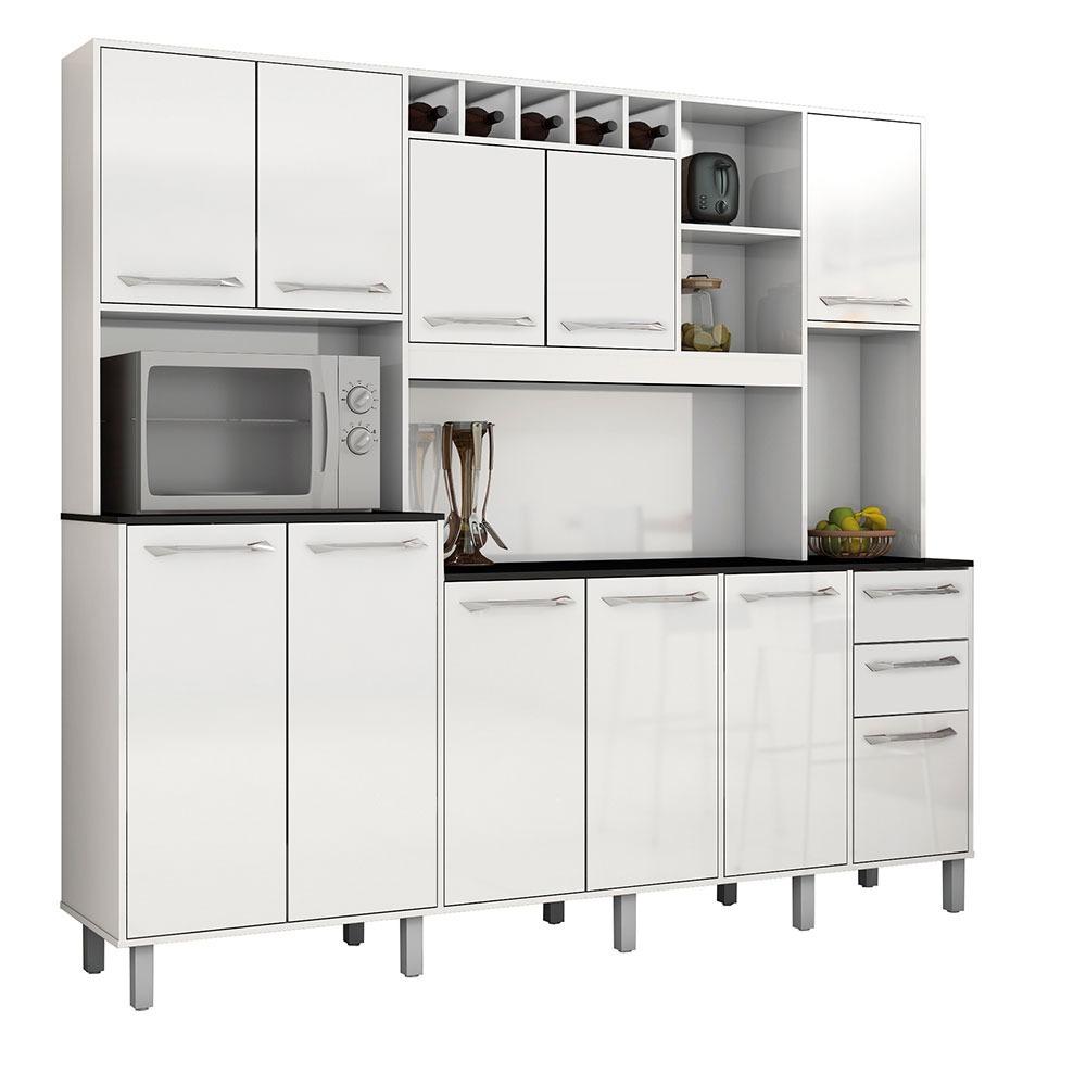 Kit De Cozinha Grande Completa Com Balc O Em Promo O R 699 00 Em