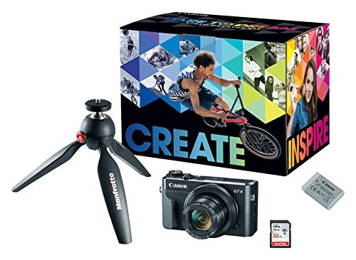 kit de creador de video canon powershot g7x mark ii - con tr