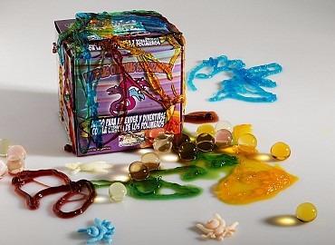 kit de criaturas experimentos juego de ciencias +8 años
