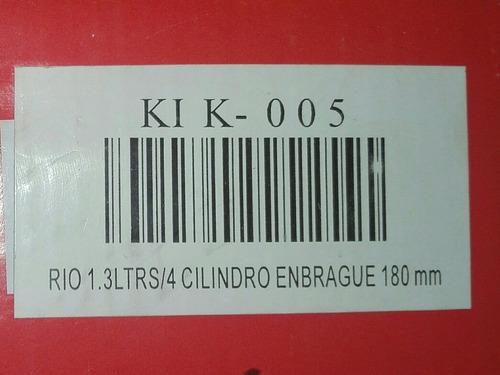 kit de croche para ford festiva, turpial y kia río 1.3