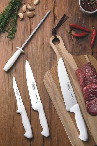 kit de cuchillos para chef 4 pzas premium tramontina envio