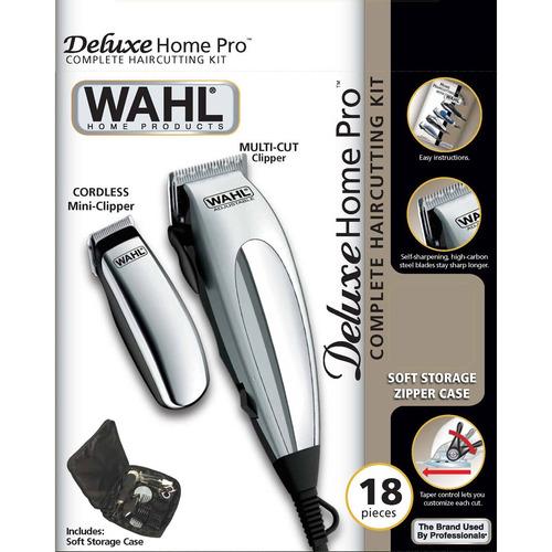 kit de cuidados pessoais wahl - máquina de corte 110v
