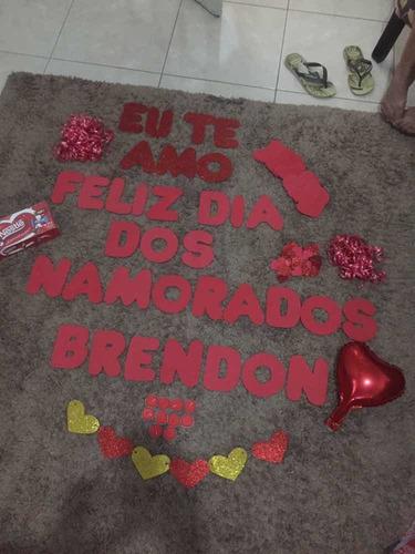 kit de decoração romântica