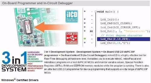kit de desenvolvimento bigdspic 6