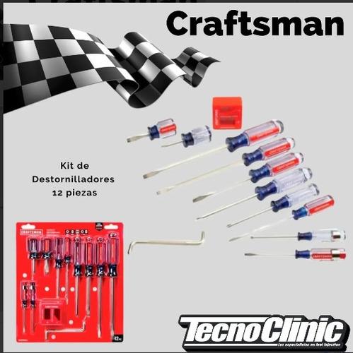 kit de destornilladores craftman (12 piezas)