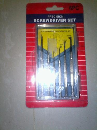 kit de destornilladores de precisión