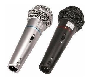 kit de dois microfones csr 505 duplo