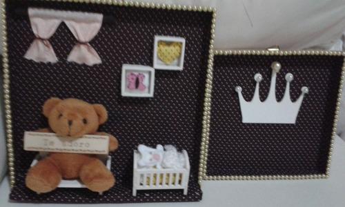 kit de dois quadros infantil