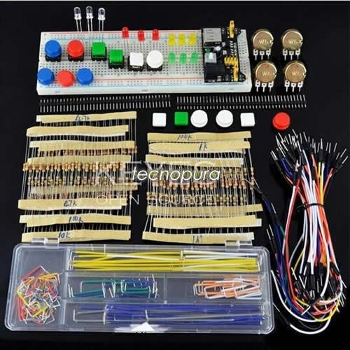 kit de electrónica principiantes - arduino / pic / raspberry