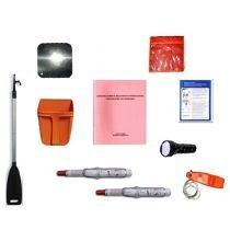 kit de elemetos de seguridad para lanchas