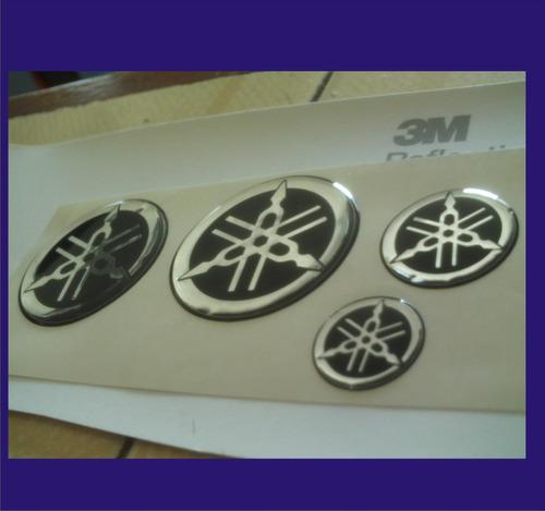 kit de emblemas 3d moto yamaha yzf r1 y r6 completo